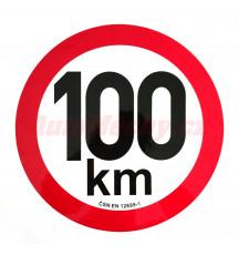Omezení rychlosti 100 km retroreflexní pr. 200 mm