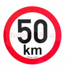 Omezení rychlosti  50 km retroreflexní pr. 200 mm