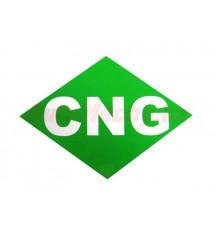 Značení CNG - vnější samolepka 110x80 mm